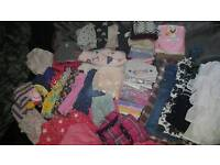 Bundle of clothes for toddler girl