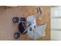 Mammas and Pappas travel system (colour is ice)