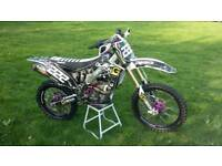 FOR SALE IS MY PRIDE ENJOY KXF 250 2014
