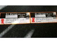 Ed Sheerhan tickets