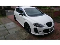 2008 Seat Leon FR in White with K1/BTCC kit *re-mapped, DPF delete