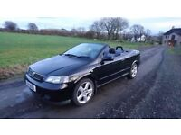 2005 vauxhall Astra 1.8 convertible