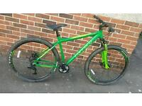 Green carrera bike