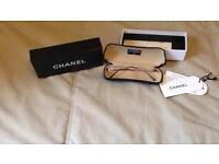 Authentic Chanel rimless glasses