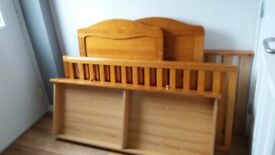 Cot Bed with mattres