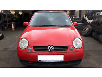 VW LUPO FOR BREAKING