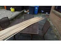 Beading/edging for laminate flooring