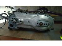 Aprilia sr 125 rolling nut 2 stroke engine