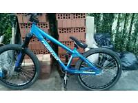 Norco jump bike with 24 inch halo rims