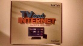Talk talk you view TV box!!!