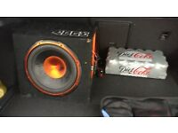 Edge 900w Subwoofer with built in Amp