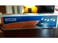 Draper 6 piece snap open flare nut wrench set
