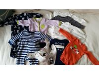 Unisex Clothes Bundle for Baby Boy or Girl - 3-6 months
