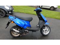 Moped / scooter with MOT to June 2018. Been stored over winter and needs a service
