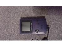 Game Boy Color, 5 games, adapter plug and carry case