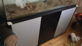 4ft aquarium cabinet
