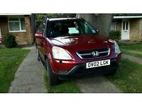 Honda cr-v 2002 auto VEHICLE NOW SOLD