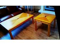 Coffee Table and small side table