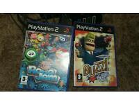 Play station 2 buzz game's