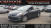 2012 Toyota Prius v LIMITED, SUNROOF, LEATHER, BACK UP CAMERA CA