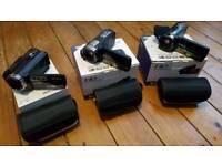 3 hd digital video cameras