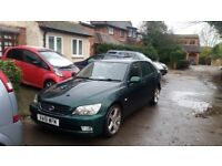 Lexus IS300 Sportcross Estate automatic 2001 lpg fitted not working