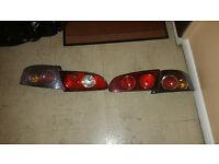 Seat ibiza 2002-2008 rear lamps lights
