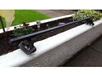 Thule Roof Bars with Fitting Kit and Foot Pack