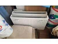 1Year 3742BTU Radiator 450mm x 800mm Double Panel Double Convector