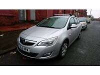 Vauxhall Astra Ecoflex 1.3 diesel manual taxi plates included expires next year Aug