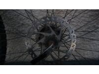 1 x 26 inch front wheel ( quick release with disc)
