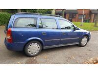 Vauxhall Astra, DTI 1.7,* diesel * 52 reg, *MOT till October 2018 *very good condition, £525