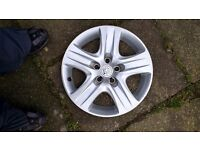 vauxhall wheel trim as new