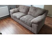 Harveys 3 seater Shelby sofa and footstool - £1200 when new