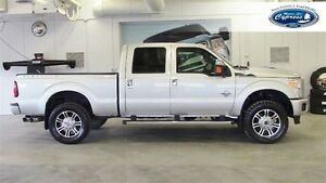 2014 Ford F-350 PLATINUM CREW CAB (Moonroof  Navigation  Loaded)