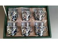 COLLECTOR'S SHOT GLASS TANKARDS