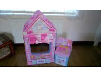 Play Shop Cup Cake Corner / Tent for Kids with Cash Register