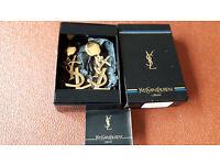 YSL (Yves Saint Laurent) Vintage Earrings