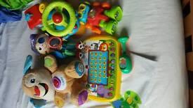 Toy bundle with bubble train