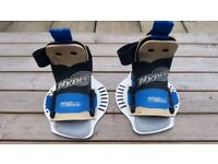 "Hyperlite Wakeboard Bindings Boots ""Highback"" Large"