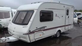 2006 2 BERTH SWIFT FAIRWAY MOTOR MOVER AWNING EVERYTHING FOR HOLS. LUXURY BATHROOM/DRESSING ROOM.