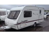 2006 2 BERTH SWIFT FAIRWAY MOTOR MOVER AWNING READY FOR HOLS. LUXURY BATHROOM/SHOWER ROOM. BLACKWOOD