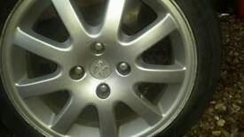 Peugeot aloys wheels