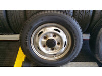 195 70 15 C 1 x tyre Firestone VanHawk Winter + steel wheel Ford Transit