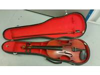 Blessing violin and case