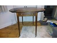 Victorian Drop Leaf Antique Pembroke Table