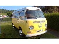 VW camper van ... lovely lemon bay
