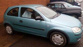 Vauxhall corsa 1.0 twinport 1 YEARS MOT!!! not astra meriva xvr etc