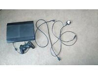 Playstation 3 500gb with leads and controller pad for sale