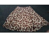 Beautiful summer skirt, Burton of London, size 12